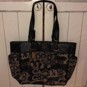 Coach shoulder bag handbag purse